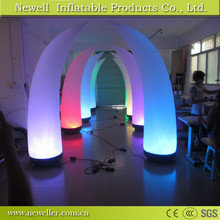 Cheapest product led inflatable ivory decoration With logo