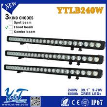 240W led light bar LED WORK LIGHT BAR C.R.E.E running LAMP wholesale