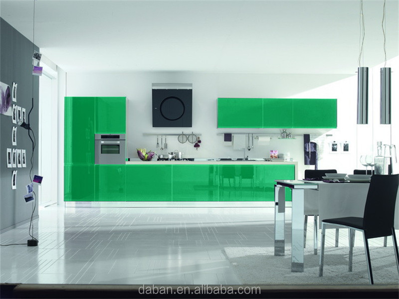 Lacquer Model Design Aluminium Banding Kitchen Cabinet Malaysia Type Furniture Foshan Factory