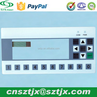 Customized Waterproof Durable Membrane Switch Flat Button
