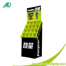 4 Shelf Cardboard Display Stands divisiones Cardboard Floor Display for Mixture Products
