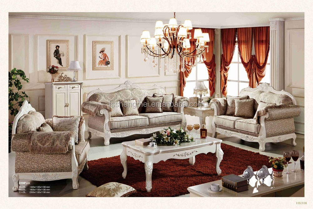 White Color Simple Fabric Sofa Sets Light Color Fabric Sofas Best ...