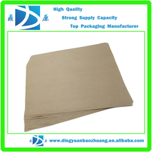 different types of brown kraft paper