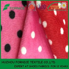 China manufacturer polyester printed dye polar fleece fabric