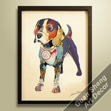 Guansheng CE012 handcraft wall decoration Dog