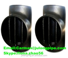 Carbon steel pipe fittings barred tee MSS SP-75 WPHY 60