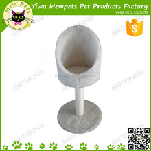 white cap shape cozy cat sleeping condo