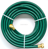 Garden water hose with brass fitting