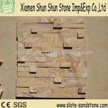 Yellow sandstone for wall tile