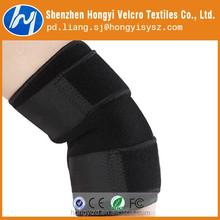 high quality custom elastic velcro wrist band / velcro knee band
