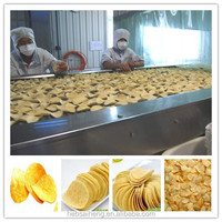 CE/ISO approved full automatic potato chips making machine
