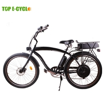 TOP E-cycle 2015 newest cheap Chinese beach cruiser electric bike