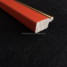 Red Fashional China Polystyrene picture frame moulding
