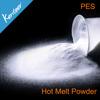 PES/copolyester hotmelt adhesive powder for heat transfer printing