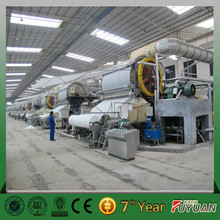 China henan fuyuan 1575mm carbon paper roll machine, paper making machine