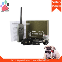 Pet-Tech P-328B 330yard electronic dog collar in 6 levels shock with remote for dog training