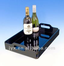 2012 hot selling acrylic serving tray
