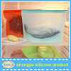 Promotional custom heat resistant kichen silicone food fresh cooking bags for oven refrigerator