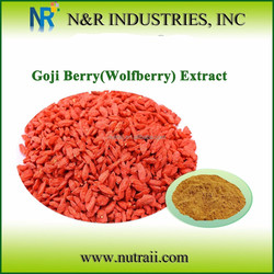 High Quality Herbal Extract China Wolfberry Extract or Goji Berry Extract Goji Polysaccharide