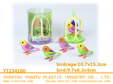 funny toy digibird happy lucky plastic bird toys for kids