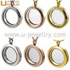Fashion hot sale 316L stainless steel magnet floating charm locket