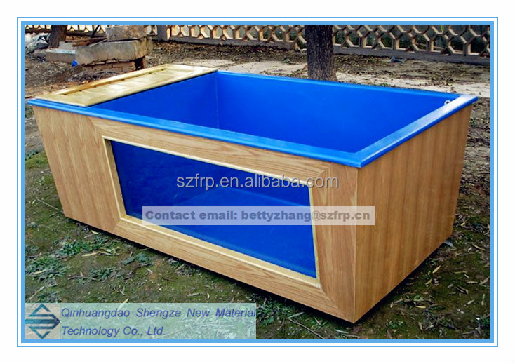 Frp Fish Breeding Pool Fiber Glass Fish Pond Fiber Glass Water Vat Buy Frp Fish Breeding Pool