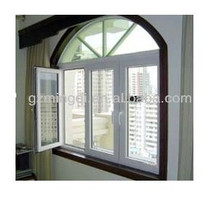 PVC home windows design factory in guangzhou