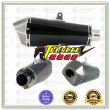 Universal motorcycle mufflers exhaust pipe for KAWASAKI wholesale