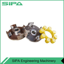 Coupling for Construction hoist motor and worm geat reducer