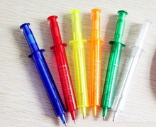 Cheap exported plastic desk stand ball pen