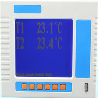 rt203 multi-channel temperature monitor with 2 point /channels