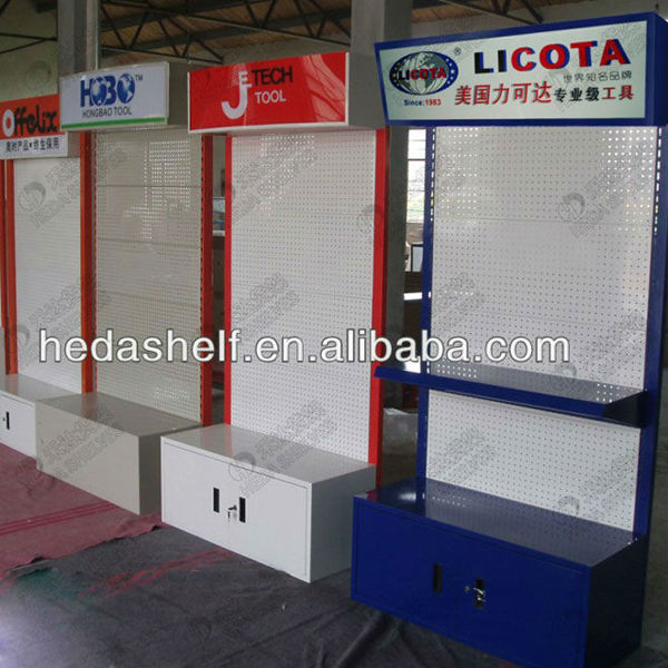 Exhibition Stand Design Tool : Pegboard tools display stand new design hardware