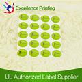 Personalizado de alta qualidade auto-adesivo epóxi cúpula de resina adesivo / etiqueta