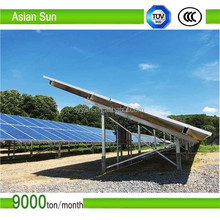PV Mounting Structure for 10mw Solar Energy System