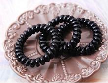 2015 Fashion Phone ponytail elastic holder, hair band,phone line bracelets