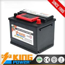 12V60AH batteries auto DIN60MF King Power Soncap