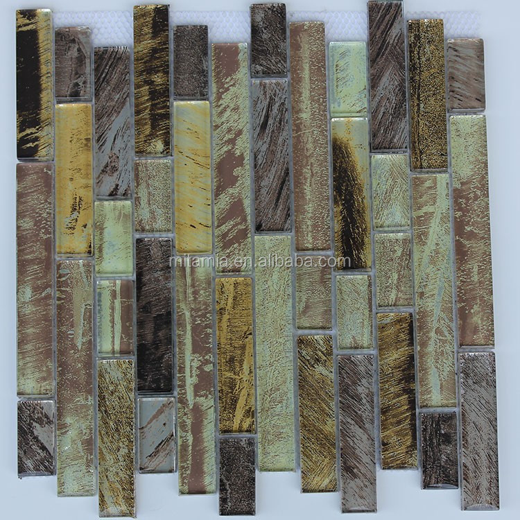 8mm thickness strip glass wall tile exterior wall tile for Thickness of glass wall for exterior