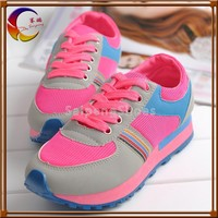 Three different color lace-up wholesale with cheap price jump sport shoes