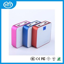 8400mAh Portable Power Bank Travel Charger External Battery 2 Dual USB 2A With LCD Screen Led Light For iphone Fast Delivery