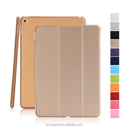 Wholesale Colorful Smart PC+PU Leather Case Flip Cover wtih Tiripled Stand for iPad mini 4 Housing