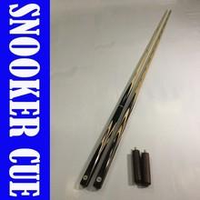 Ebony snooker cue, rosewood snooker cue, exotic timbers billiard cue