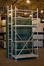 Hot-dipped Galvanized cuplock system scaffolding