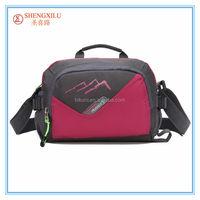 China supplier wholesales unisex nylon sports shoulder bag with holder