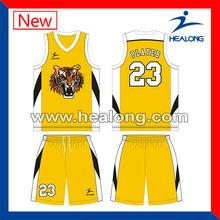 mermelada de espacio el último diseño de jersey uniforme de baloncesto