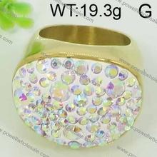 4 carati anello di diamanti con 19.3g forma speciale
