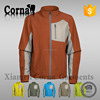 China wholesale dark red breathable polyester windproof softshell men jacket winter