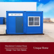 Real estate products prefabricated shipping low cost 20ft prefabricated container house