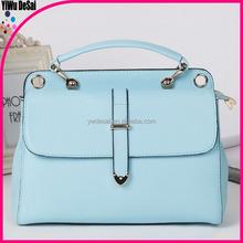 high quality leather colorful fashion bags ladies handbags