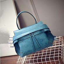 C88503A europea lady fashion suede handbag