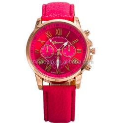 New design, colourful, women watch, geneva watch2015